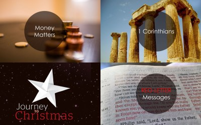 Money Matters | 1 Corinthians | Journey to Christmas | Red-Letter Messages | Autumn Talks Series 2019