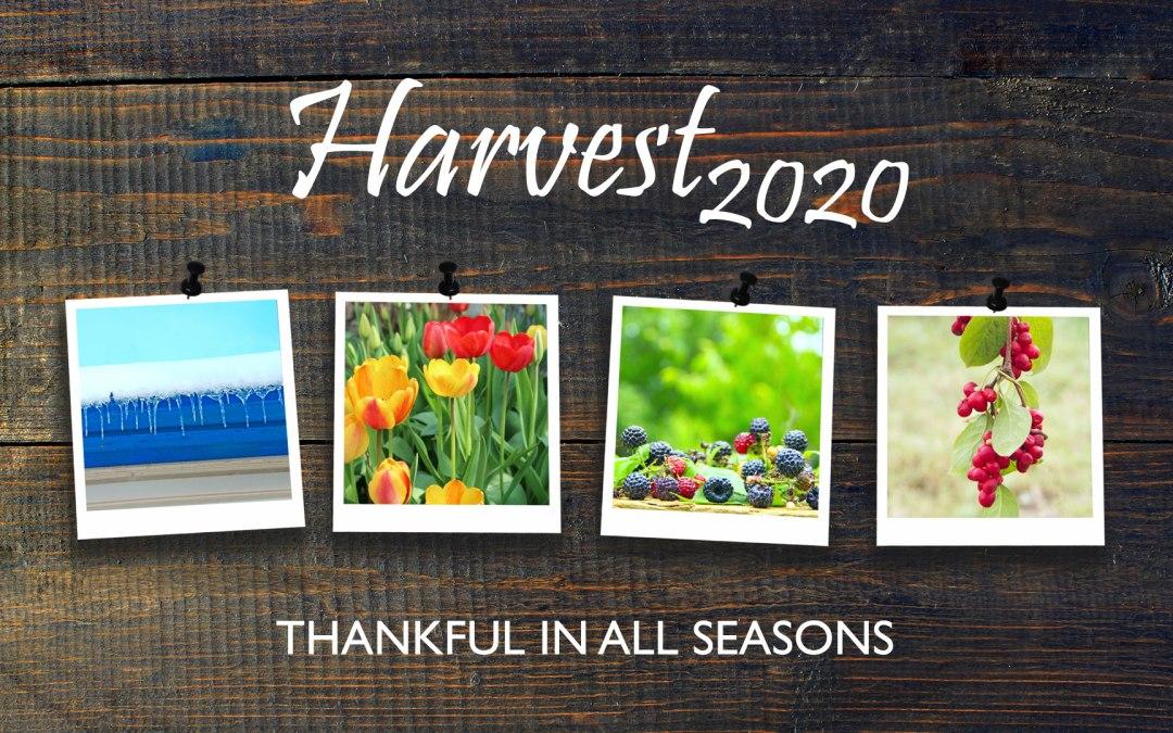 Harvest 2020 – Thankful In All Seasons | Sunday 18th October 2020