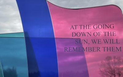 Remembrance Sunday 8th November @ 11:00am
