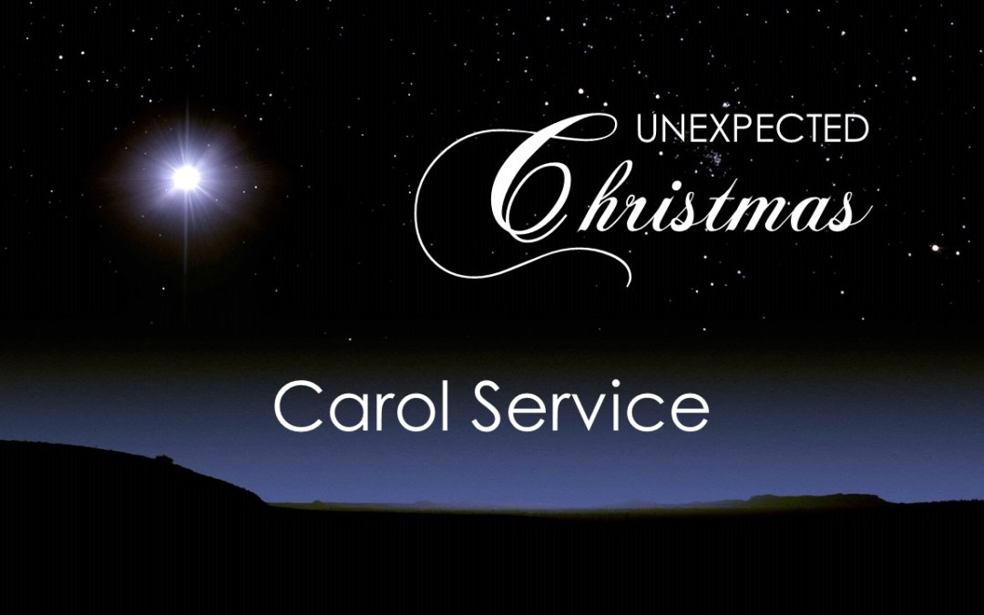 Carol Service | Sunday 20th December 2020 @ 6:30pm