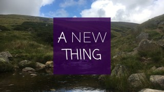 A New Thing - What do you see?   Sunday 31st January 2021 @ 11:00am