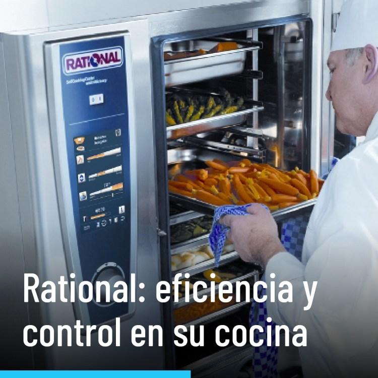 Rational: eficiencia y control en su cocina