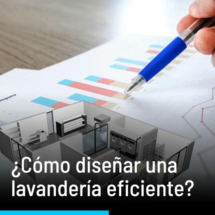¿Cómo diseñar una lavandería eficiente?
