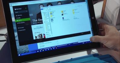 Apple VS Microsoft タブレットモード デスクトップモード