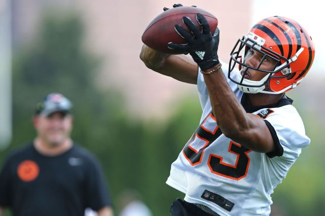 Tyler Boyd training camp Semana 1 da pré-temporada 2016
