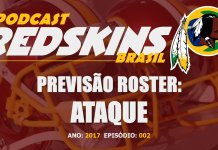 Previsão Roster Ataque Redskins