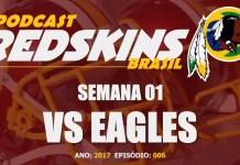 Redskins vs Eagles - Semana 1 Temporada 2017