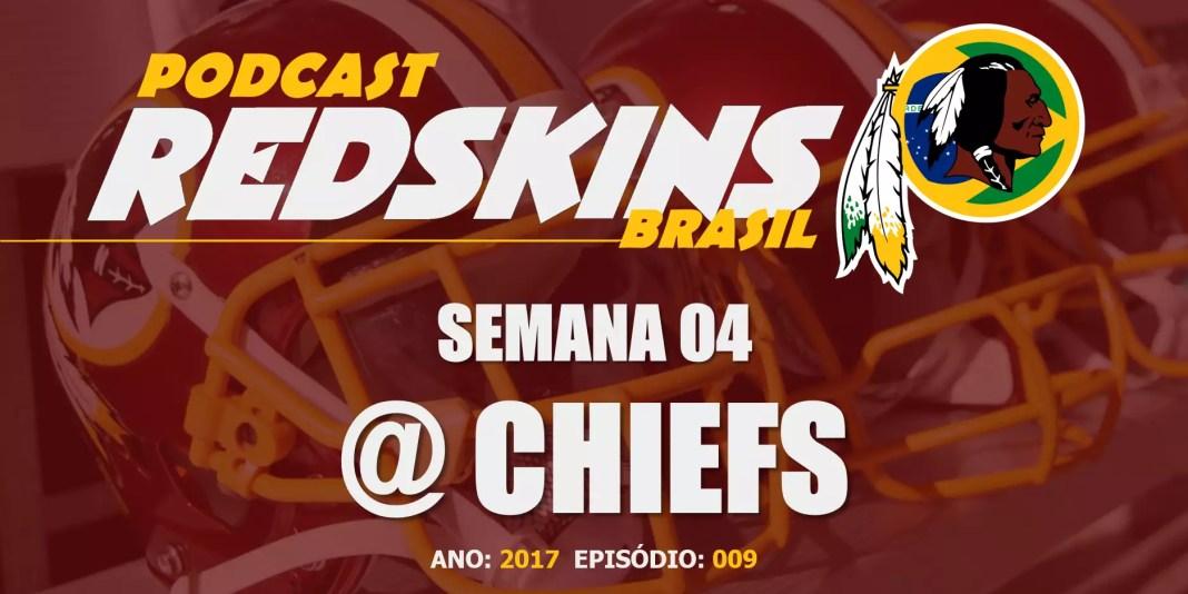 Redskins vs Chiefs - Semana 4 Temporada 2017