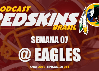 Redskins vs Eagles – Semana 7 – Temporada 2017