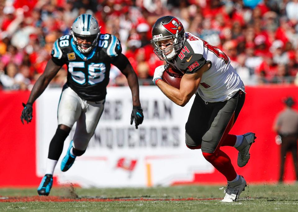 O Tampa Bay Buccaneers perdeu para o Carolina Panthers por 17x3