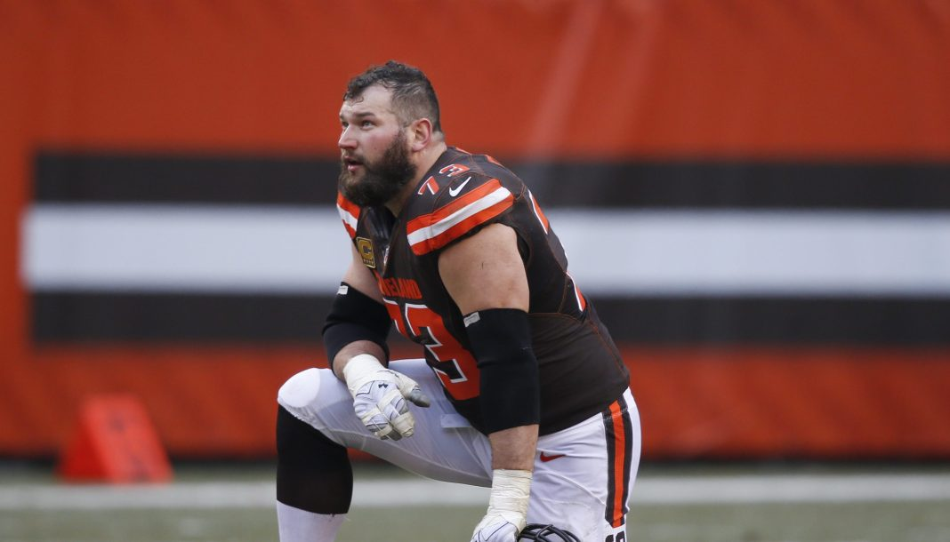 Joe Thomas, offensive tackle do Cleveland Browns