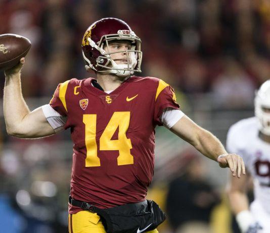 Sam Darnold, quarterback da universidade USC