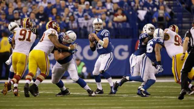 Washington Redskins vs Indianapolis Colts