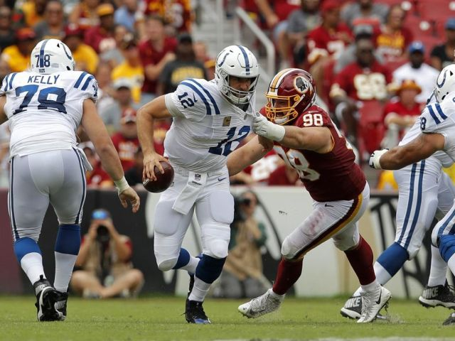 Redskins vs Colts
