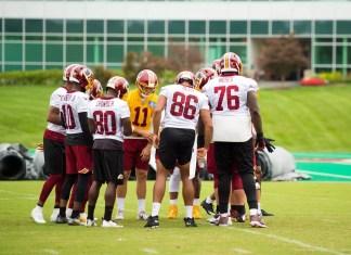 Semana Redskins - 09/09 à 14/09