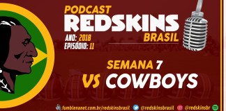Redskins vs Cowboys Semana 7 2018