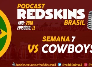 Redskins vs Cowboys Semana 7 2018