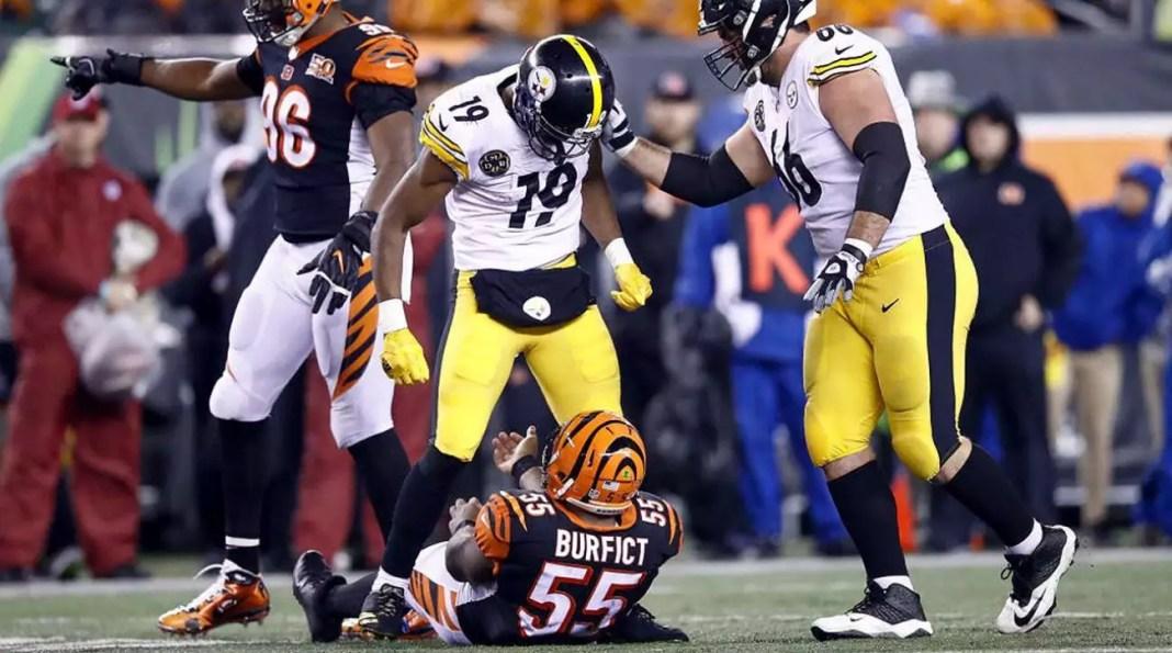 Pré-jogo Steelers @ Bengals