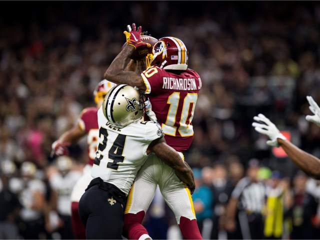 Washington Redskins 19 @ 43 New Orleans Saints