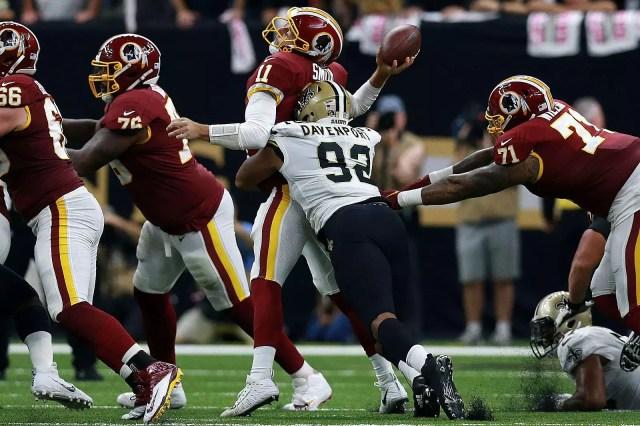 Redskins at Saints Semana 5 2018