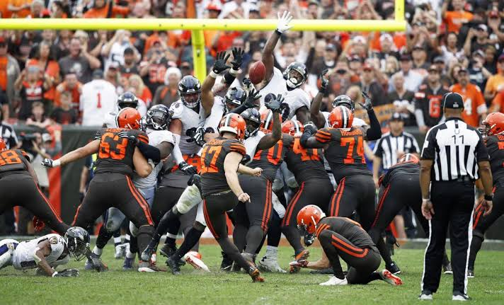 Pós Jogo Ravens 9 x 12 Browns
