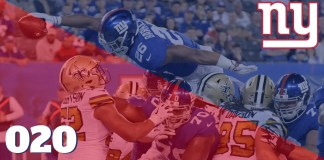 Giants vs Saints Semana 4 2018