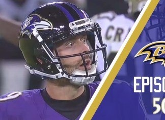 Tucker se espanta ao ver o extra point perdido na derrota do Baltimore Ravens contra o New Orleans Saints pela semana 7 da temporada 2018 da NFL