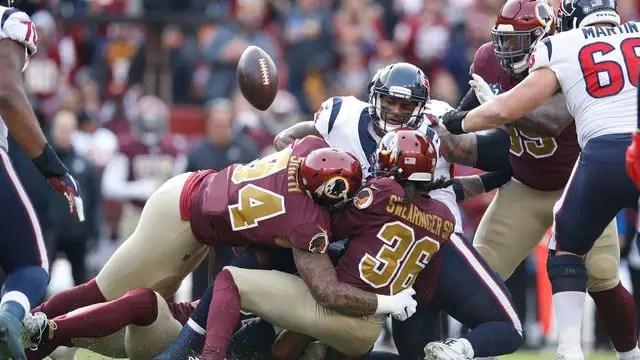 Redskins vs Texans: Pós