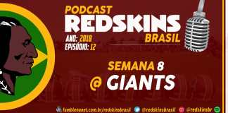 Redskins at Giants Semana 8 2018