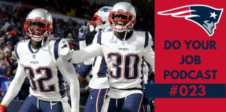 Patriots vs Bills Semana 8 2018