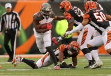 Bengals 37 x 34 Tampa Bay Buccaneers week 8