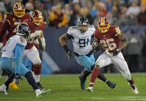 Redskins at Titans