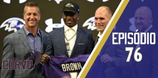 Marquise Brown, primeira escolha do Baltimore Ravens no Draft
