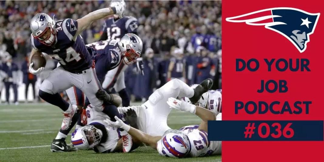 Patriots vs Bills Semana 16 2019