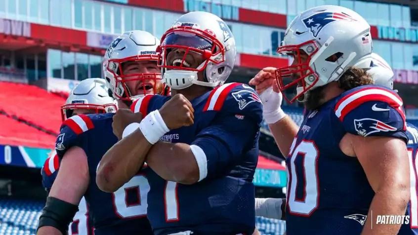 Já após a segunda semana, o Patriots provou ser uma equipe que pode brigar de igual para igual com as grandes forças da NFL.