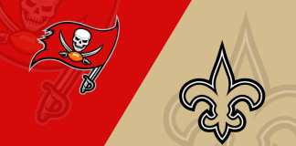 Buccaneers x Saints