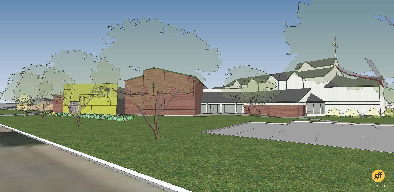 New Exterior Views First United Methodist Church Of Allen