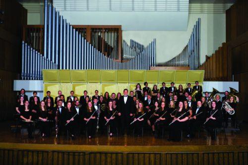 The Nebraska Wesleyan University Symphonic Band