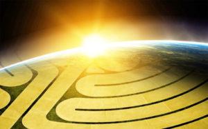 labyrinth earthsunrise