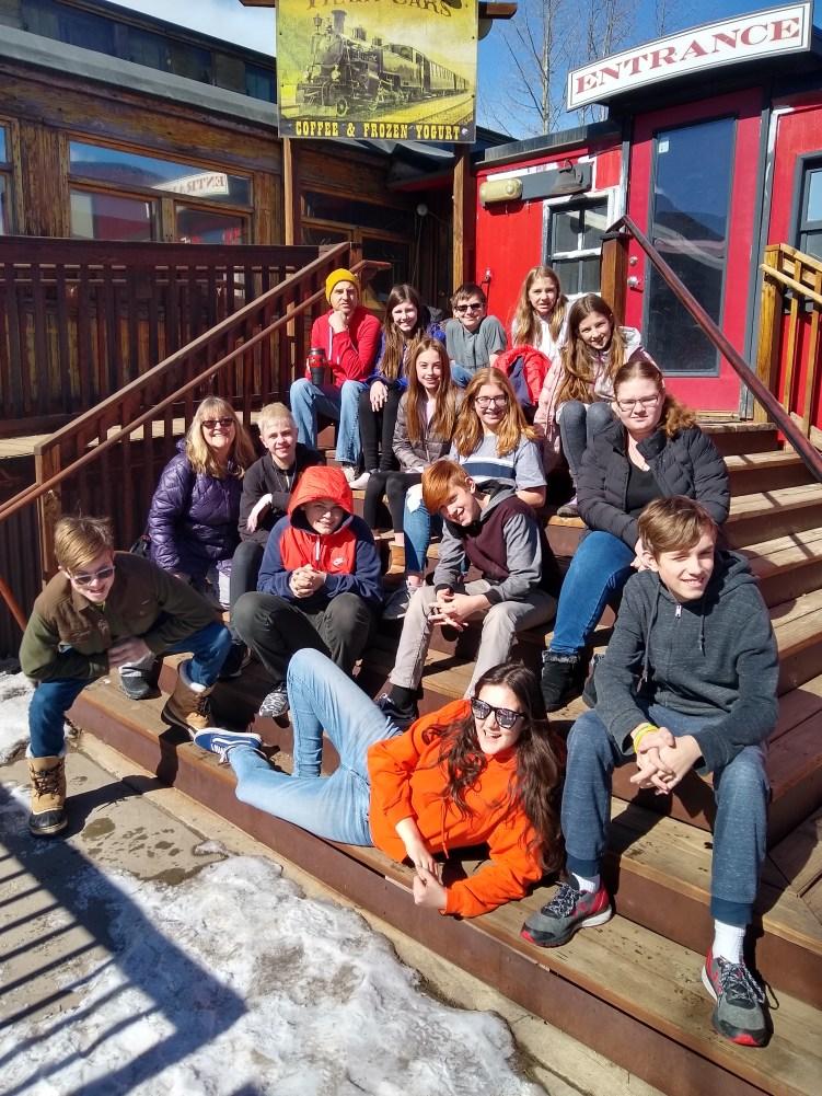 Group shot: Winter Retreat