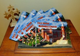 "First United Methodist Church began our year-long celebration ""150 Years to Celebrate, 150 Ways to Serve"" in honor of our sesquicentennial anniversary in January 2016. Our anniversary calendars are now available for purchase ~ visit Kelli or Karen at the church office! The calendars are $10 each!"