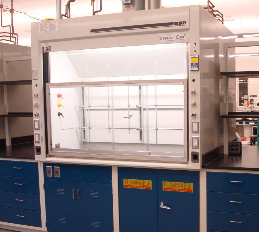 Laboratory Bench Top Fume Hood