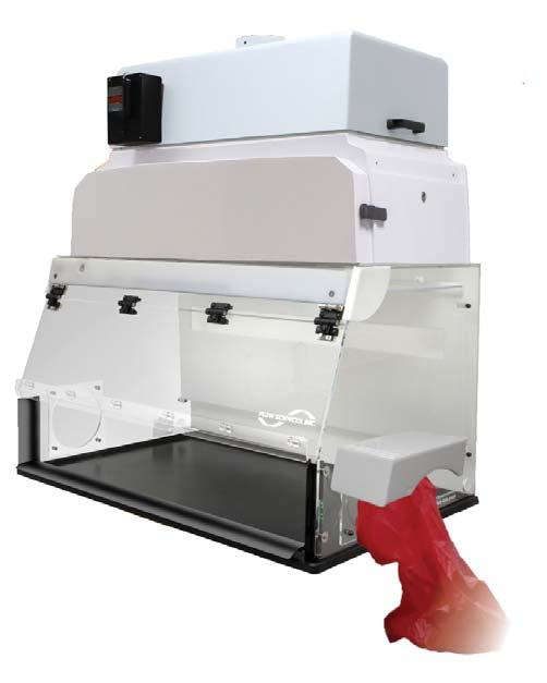 Movable Fume Hoods: Laminar Flow Powder Hoods