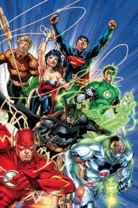 Justice League #1-6, di Geoff Johns e Jim Lee - 2011