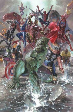 Marvel: Legacy #1, variant cover di Alex Ross