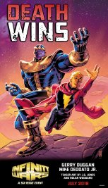 Infinity Wars, teaser di J.G. Jones