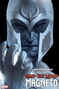 Giant-Size X-Men: Magneto, copertina di Ben Oliver