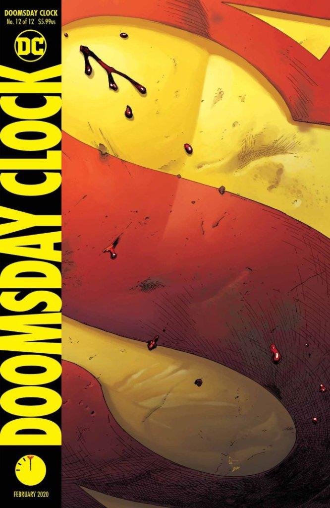 Doomsday Clock #12, copertina di Gary Frank