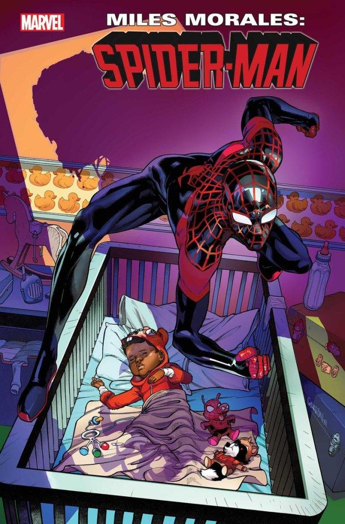 Miles Morales: Spider-Man #16, copertina di Javier Garron