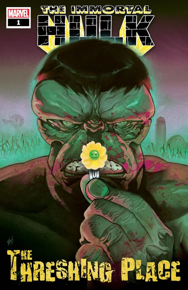 Immortal Hulk: The Threshing Place, copertina di Mike del Mundo